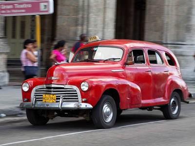 Xế cổ tại thủ đô Cuba