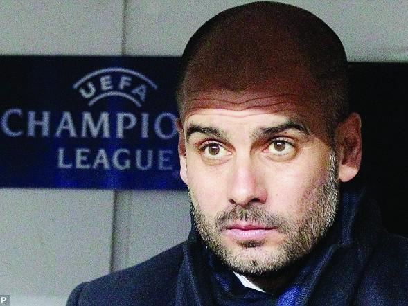 Pep Guardiola sẽ rời Barca để thử sức tại Arsenal vào hè tới? Ảnh: AP