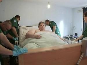 Người đàn ông béo nhất thế giới năm 2012