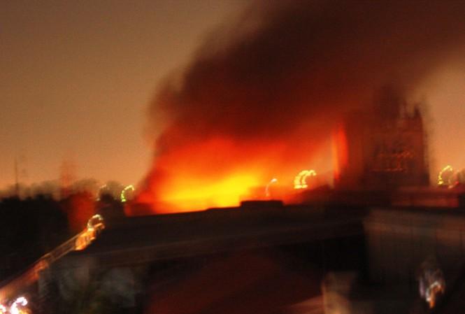 Cháy lớn tại công ty P&G