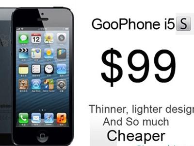 iPhone 5s 'nhái' giá rẻ giật mình