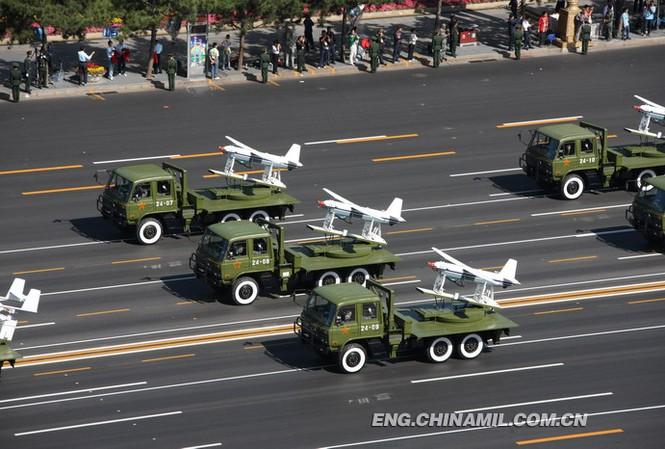 UAV Trung Quốc đe dọa tàu sân bay Mỹ