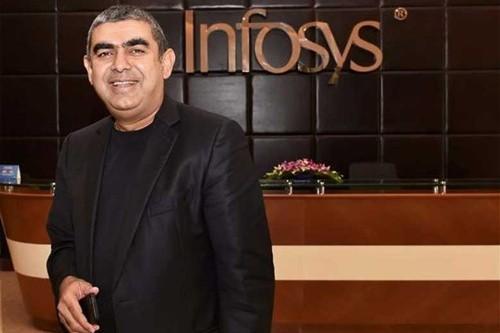 CEO Infosys - ông Vishal Sikka đang tìm cách giữ chân nhân viên. Ảnh: Financial Express