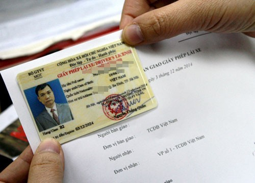 Từ ngày 15/2, đổi giấy phép lái xe sẽ không cần phải khám sức khỏe. Ảnh minh họa: Bá Đô/ VnExpress