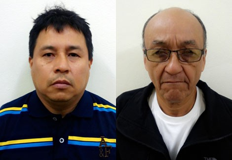 Hai tên trộm bị bắt giữ.