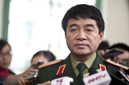 Trung tướng Võ Văn Tuấn, phó tổng tham mưu trưởng Quân đội nhân dân Việt Nam. Ảnh: Nguyên Anh/ VnExpress