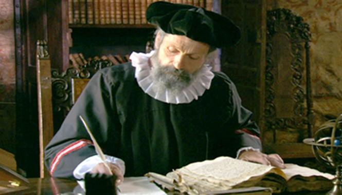 Nhà tiên tri kiệt xuất Nostradamus.