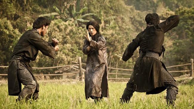 """Dustin Nguyễn tái xuất với vai chính trong phim hành động Hollywood """"The man with the iron fists 2"""". Ảnh: NVCC."""