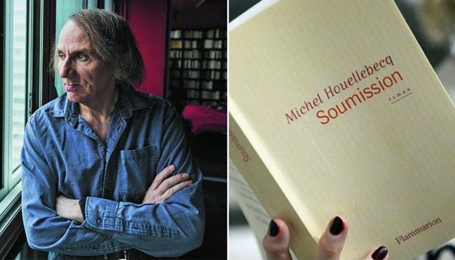 """Sách mới của Michel Houellebecq được nhiều người coi là """"tác phẩm nguy hiểm""""."""