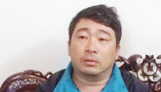 Đối tượng cầm đầu Võ Văn Phi tại cơ quan điều tra.