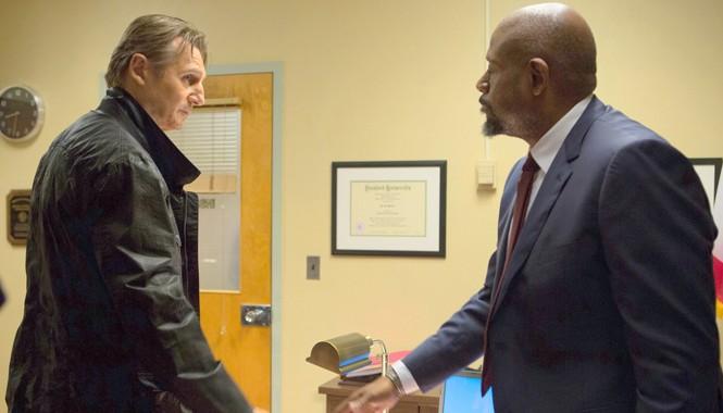"""Liam Neeson và Forest Whitaker có nhiều đoạn thoại thú vị trong """"Taken 3""""."""