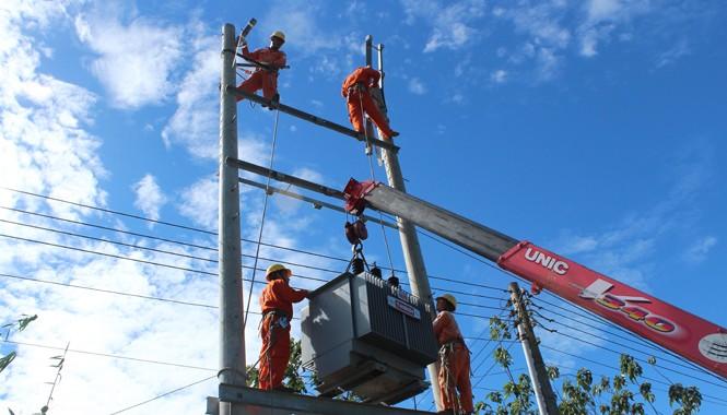 EVN SPC chú trọng đầu tư phát triển lưới điện nhằm nâng cao khả năng cung cấp và chất lượng điện.