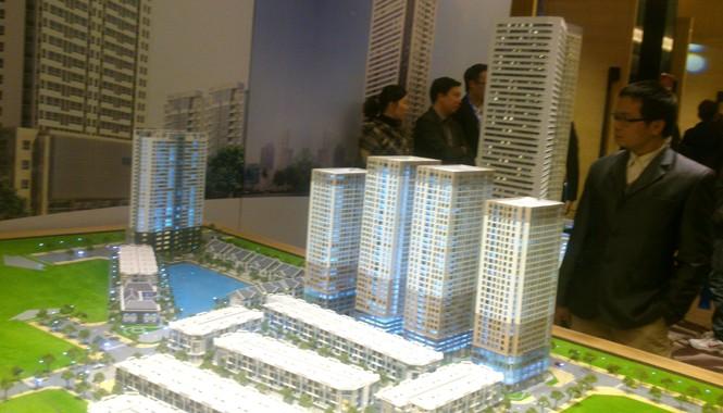 Mô hình Dự án FLC Complex (36 Phạm Hùng, Nam Từ Liêm, Hà Nội)-một nơi chưa có giấy phép xây dựng nhưng đang được các sàn chào bán đủ giá