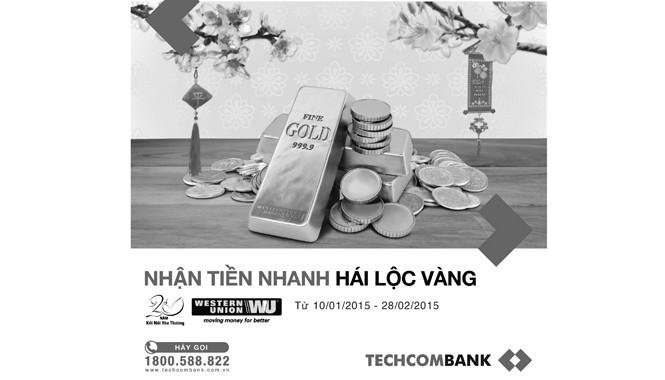 Nhiều chương trình linh hoạt với Techcombank