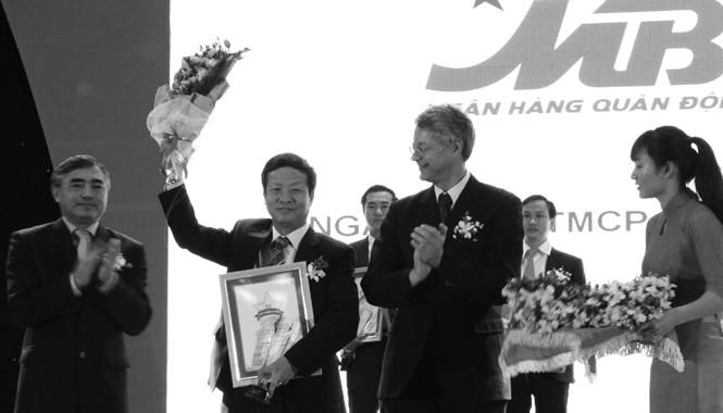 MB nhận giải thưởng Top 50 DNVN xuất sắc