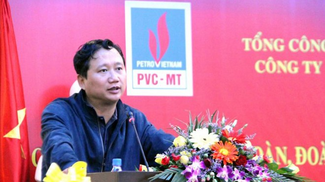 Ông Trịnh Xuân Thanh đang bị truy nã toàn quốc và quốc tế.