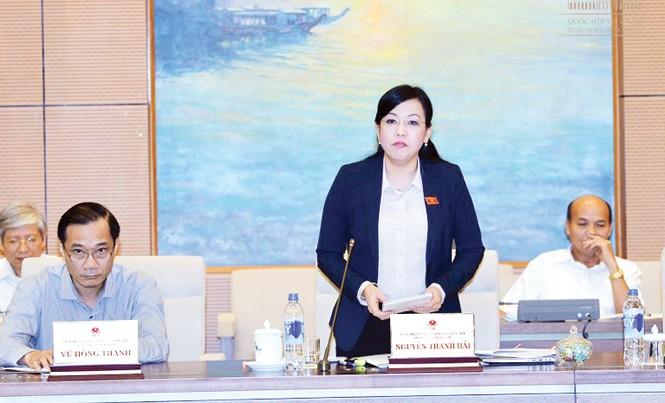 Trưởng ban Dân nguyện Nguyễn Thanh Hải.