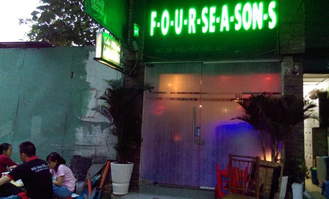 Địa chỉ trên đường Nguyễn Siêu (Q.1, TPHCM) được Công ty TNHH MTV Nhà hàng Nightfall đăng ký tại Sở Kế hoạch và Đầu tư TPHCM cũng đã chuyển sang kinh doanh quán bar. Ảnh: Văn Minh.