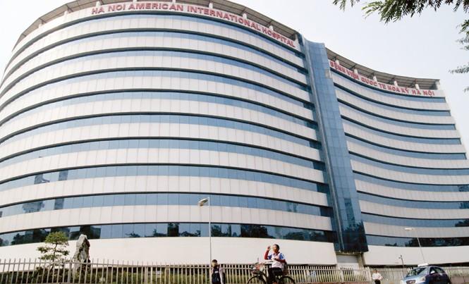 Dự án Bệnh viện Quốc tế Hoa Kỳ - Hà Nội (Cầu Giấy, Hà Nội) đã gần 20 năm chưa thể đưa vào vận hành. Ảnh: Phạm Thanh.