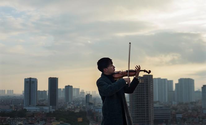 Hoàng Rob: Tay ngang violin may mắn
