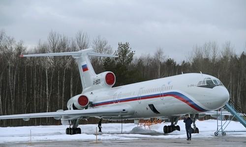 Một máy bay Tu-154 của Nga