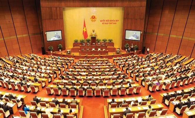 Toàn cảnh kỳ họp thứ 2, Quốc hội khóa 14. Ảnh: Như Ý.