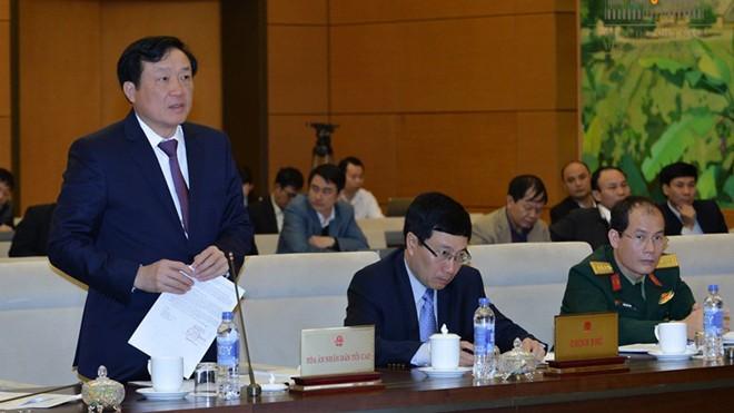 Theo Chánh án TAND Tối cao Nguyễn Hòa Bình, để xác định bồi thường, cái khó là việc định lượng.