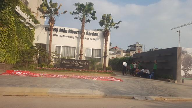 Dự án cao ốc Riverside Garden (349 Vũ Tông Phan).