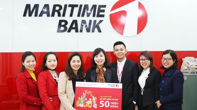 Maritime Bank tìm ra chủ nhân giải thưởng sổ tiết kiệm