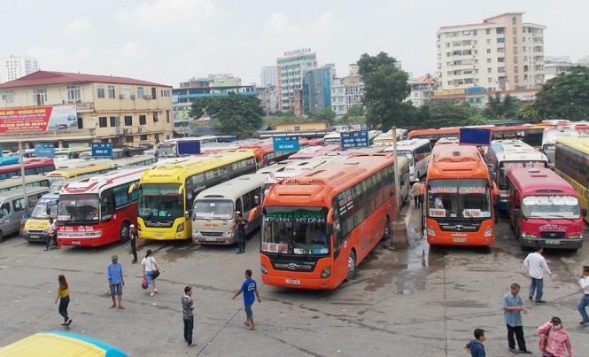 Để tránh xe có khách, xe không, Tổng cục Đường bộ yêu cầu, các tuyến phải bố trí về cùng một bến xe.