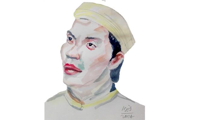 Tranh: Nguyễn Văn Hổ.