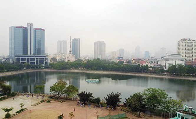 Đề xuất của doanh nghiệp lấp 1ha hồ Thành Công để xây chung cư đã gây nhiều ý kiến phản ứng.