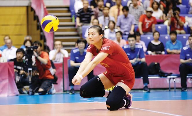 Libero số 1 thế giới Lin Li sẽ là ngôi sao sáng nhất tại giải bóng chuyền nữ quốc tế VTV Bình Điền Cup 2017. Ảnh: C.V.