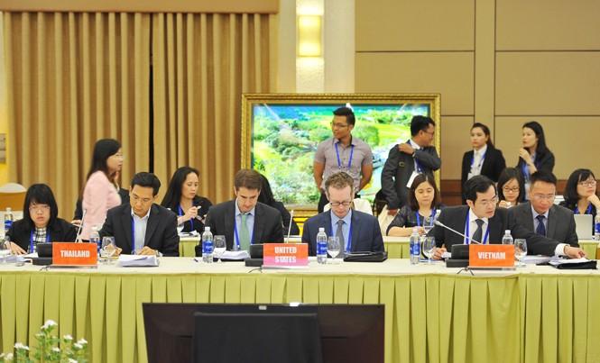 Hội nghị quan chức tài chính cao cấp APEC (SFOM) được tổ chức tại Ninh Bình trong hai ngày 18 và 19/5. Ảnh: TTXVN.