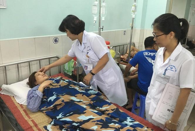 Cô T. đang điều trị tại Bệnh viện Việt Tiệp.