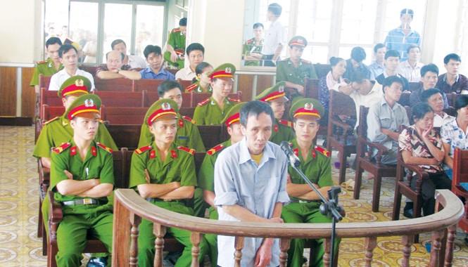 Tất cả các lần đứng trước Tòa, Hàn Đức Long đều một mực kêu oan