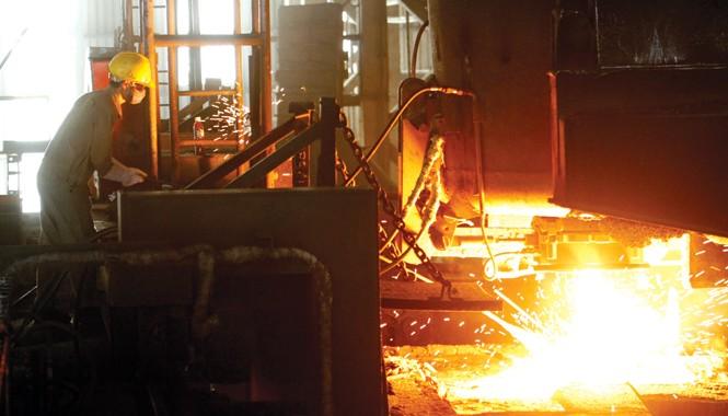 Sản xuất công nghiệp năm 2014 đã khởi sắc