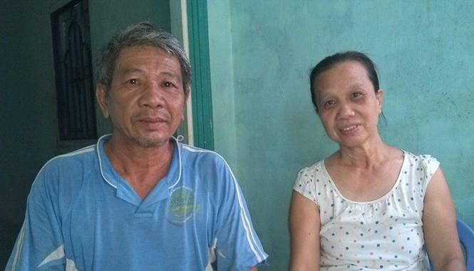 Vợ chồng cựu chiến binh Đỗ Xuân Hương. Ảnh: Vũ Long