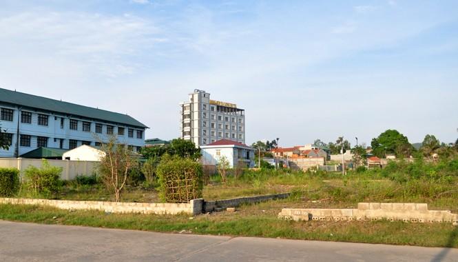 Khu 1.000m2 đất tại phường Hùng Thắng được chuyển đổi sang đất ở trái luật