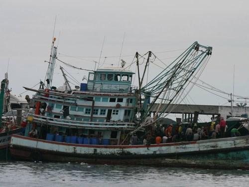 Một tàu cá thái lan. Ảnh minh họa