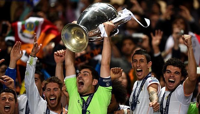 Chiến thắng thứ 10 ở Champions League đóng vai trò quan trọng giúp Real Madrid trở thành đội bóng kiếm tiền giỏi nhất thế giới. Ảnh: Getty Images