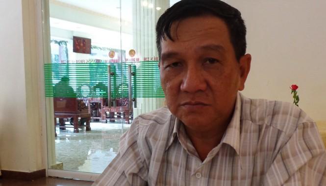 Ông Nguyễn Đức Thành trình bày vụ việc với PV Tiền Phong. Ảnh: T.Đ