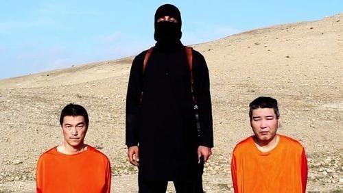 Hai con tin người Nhật bị IS bắt giữ. Một trong số này đã bị IS hành quyết.