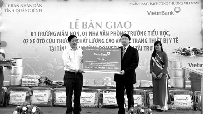 VietinBank dành trên 5.000 tỷ đồng cho an sinh xã hội, đền ơn đáp nghĩa