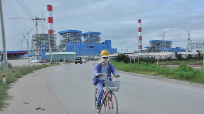 Nhà máy nhiệt điện Duyên Hải. Ảnh: Hòa Hội