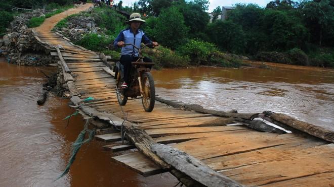 Cầu 1C Bình Sơn, xã Ea Wy, huyện Ea H'leo