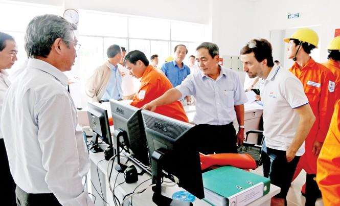 Tập trung cao độ chuẩn bị đóng điện cáp ngầm 110 kV xuyên biển Hà Tiên-Phú Quốc