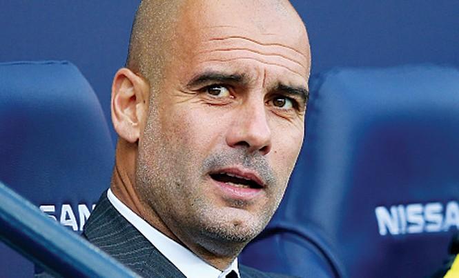 Pep Guardiola có giúp Man City cải thiện thành tích đối đầu trước Barca? Ảnh: Getty Images