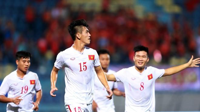 Các cầu thủ U19 Việt Nam được mong chờ làm nên lịch sử ở giải U19 châu Á dù gặp phải những đối thủ mạnh ở vòng bảng. Ảnh: VSI