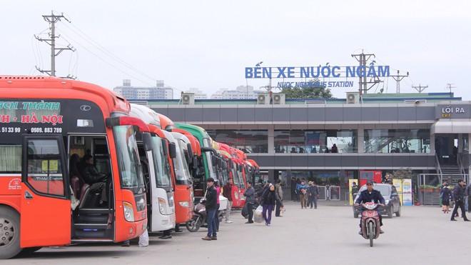 Bến xe Nước Ngầm hỗ trợ lệ phí cho các nhà xe chuyển bến.